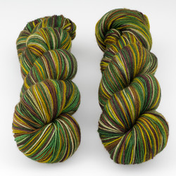 Fresh from the Cauldron, Schoodic Sock // Sherwood Forest at  The Loopy Ewe