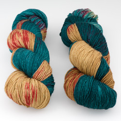 Fresh from the Cauldron, Schoodic Sock // Tyler at  The Loopy Ewe