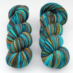 Fresh from the Cauldron, Schoodic Sock // Heracles at  The Loopy Ewe