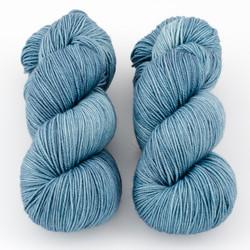 Magpie Fibers, Swanky Sock // Boyfriend Jeans at  The Loopy Ewe