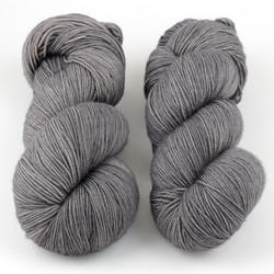 Magpie Fibers, Swanky Sock // Cinder at  The Loopy Ewe