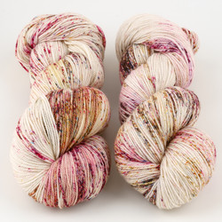 Magpie Fibers, Swanky Sock // Heart of Glass at  The Loopy Ewe