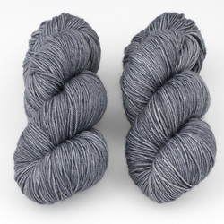 Magpie Fibers, Swanky Sock // Stormfront at  The Loopy Ewe