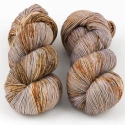 Magpie Fibers, Swanky Sock // Autumn Almanac at  The Loopy Ewe