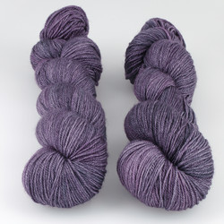 The Uncommon Thread, Posh Fingering // Amethyst at  The Loopy Ewe