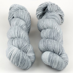 The Uncommon Thread, Posh Fingering // Chrome at  The Loopy Ewe