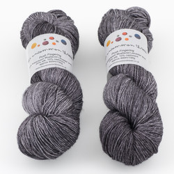 The Uncommon Thread, Posh Fingering // Cobble at  The Loopy Ewe