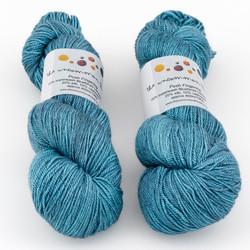 The Uncommon Thread, Posh Fingering // Leaden at  The Loopy Ewe