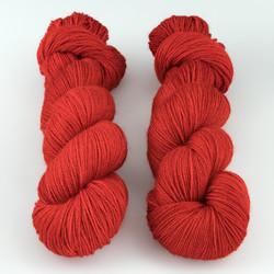 The Uncommon Thread, Posh Fingering // Carmine at  The Loopy Ewe