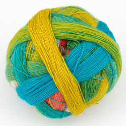 Skacel, Zauberball Lace Ball 100 // 1701 Papagei at  The Loopy Ewe