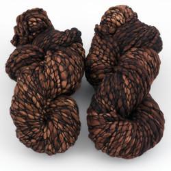 Malabrigo, Caracol // 161 Rich Chocolate at  The Loopy Ewe