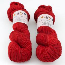 The Uncommon Thread, Merino DK // Carmine at  The Loopy Ewe