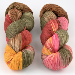 Gherkin's Bucket, Long Stride Sock // Geek is the Color for Fall at  The Loopy Ewe