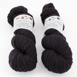 The Uncommon Thread, Lush Worsted // Aged Merlot at  The Loopy Ewe