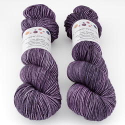 The Uncommon Thread, Lush Worsted // Amethyst at  The Loopy Ewe