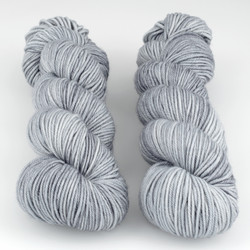 The Uncommon Thread, Lush Worsted // Chrome at  The Loopy Ewe