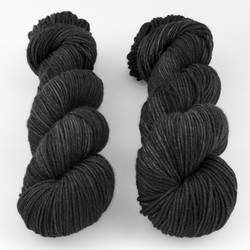 The Uncommon Thread, Lush Worsted // Charred at  The Loopy Ewe