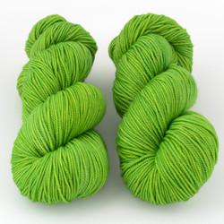 Magpie Fibers, Swanky DK // Spring Green at  The Loopy Ewe