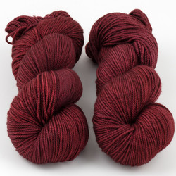 Magpie Fibers, Swanky DK // Red Red Wine
