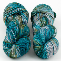 Magpie Fibers, Swanky DK // Runs With Scissors at  The Loopy Ewe