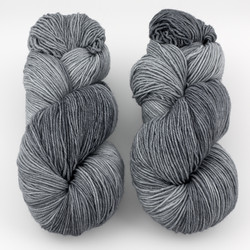 Ancient Arts Fibre Crafts, Heavy Fingering Yarn // Russian Silver Blue at  The Loopy Ewe