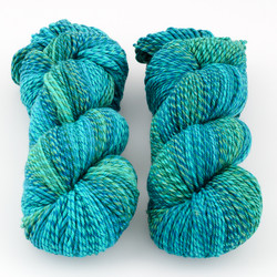 Cascade, 220 Superwash Wave // 105 Blue Green at  The Loopy Ewe