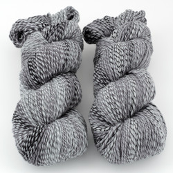 Cascade, 220 Superwash Wave // 110 Graphite at  The Loopy Ewe