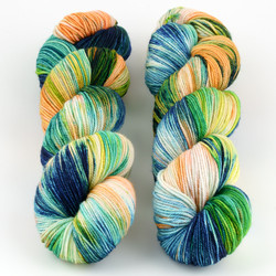 Dream in Color, Pop Up Skein Club // March 2020 at  The Loopy Ewe