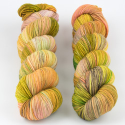 Dream in Color, Pop Up Skein Club // April 2021 at  The Loopy Ewe