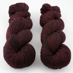Knerd String, Sport Weight // Black Magic Woman at  The Loopy Ewe