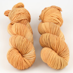 Knerd String, Sport Weight // Punkin at  The Loopy Ewe