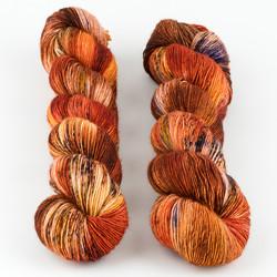 Uschitita Fibre Art, Merino Singles // Canyon