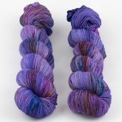 Uschitita Fibre Art, Merino Sock // Sugared Violets