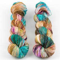 Uschitita Fibre Art, Merino Sock // Bouquet