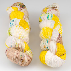 Qing Fibre, Super Soft Sock // Balala at  The Loopy Ewe