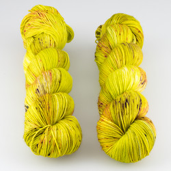 Hue Loco, Phyllis Sock // Muscle Up Buttercup at  The Loopy Ewe