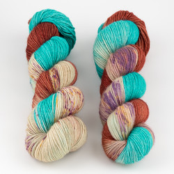 Dream in Color, Sock-It Club // September (BFL) at  The Loopy Ewe