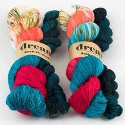 Dream in Color, Sock-It Club // August 2020 at  The Loopy Ewe