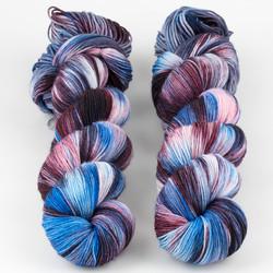 Brediculous Yarns, Addy Socks // Arctic Bliss at  The Loopy Ewe