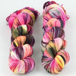 Brediculous Yarns, Addy Socks // Hello Gorgeous at  The Loopy Ewe