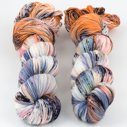 Brediculous Yarns, Addy Socks // Rock Candy at  The Loopy Ewe
