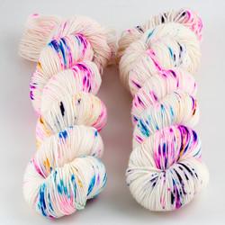 Brediculous Yarns, Addy Socks // Spark! at  The Loopy Ewe