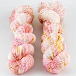 Brediculous Yarns, Addy Socks // Summer Shandy