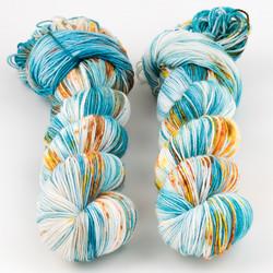 Brediculous Yarns, Addy Socks // West Coast at  The Loopy Ewe