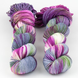 Brediculous Yarns, Addy Socks // Witches Brew at  The Loopy Ewe
