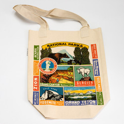 Cavallini Tote Bag in National Parks
