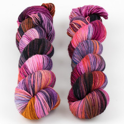 Monthly Exclusive Colorway // Summer Sunrise - Smooshy with Cashmere