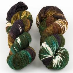 Essence of Autumn, Pasture Sock // Fossil