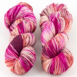 Essence of Autumn, Pasture Sock // Hibiscus Tea
