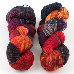 Essence of Autumn, Pasture Sock // Rainbow Trout